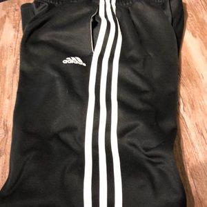 Adidas black athletic pant